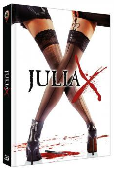 Julia X 3D - 2-Disc Limited Collectors Edition Mediabook (Cover A) BR+DVD - limitiert auf 388 Stk.