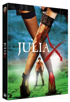 Julia X 3D - 2-Disc Limited Collectors Edition Mediabook (Cover B) BR+DVD - limitiert auf 277 Stk.