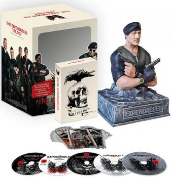 The Expendables Trilogy Limited Collectors Edition mit Büste (5Discs)