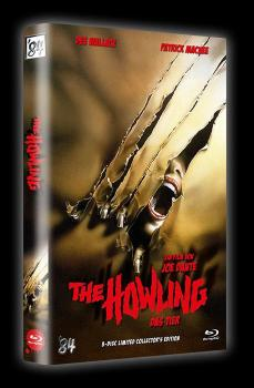 The Howling - Das Tier - 3-Disc Limited Collector's Edition gr. Hartbox (Cover A) BD+DVD - limitiert auf 99 Stück