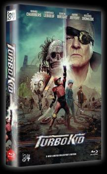 Turbo Kid - 3-Disc Limited Collectors Edition gr. Hartbox (Cover A) BD+DVD - limitiert auf 111 Stück