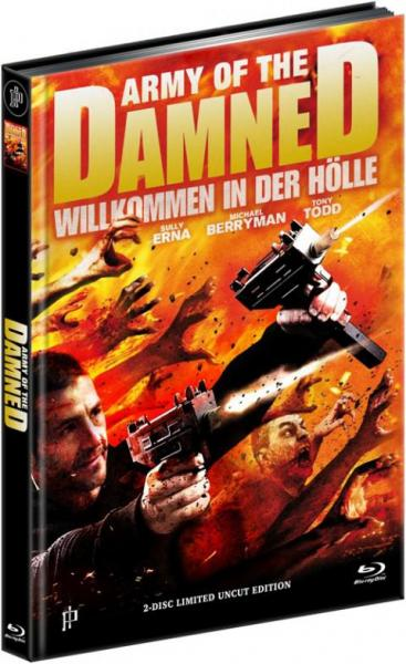 Army of the Damned - 2-Disc Limited Uncut Edition Mediabook (Cover B) BR+DVD - limitiert auf 500 Stück