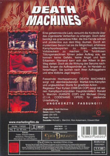 Death Machines DVD