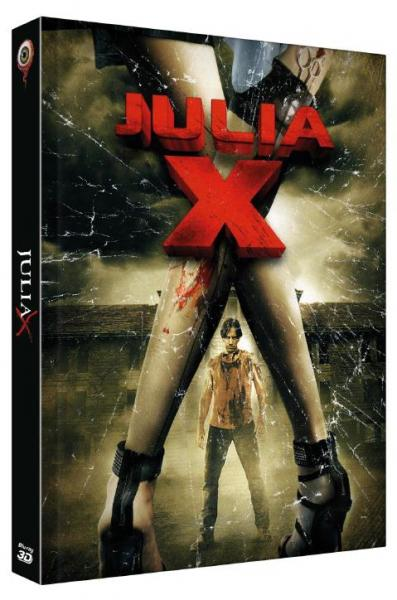 Julia X 3D - 2-Disc Limited Collectors Edition Mediabook (Cover C) BR+DVD - limitiert auf 266 Stk.