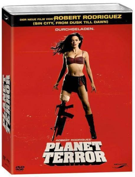 Planet Terror Limited Collectors Edition 2DVDs Blech-Kanister DVD