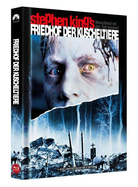 Stephen Kings Friedhof der Kuscheltiere BR+DVD - 2-Disc Limited Collectors Edition Mediabook