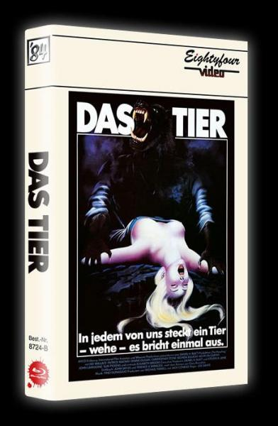 The Howling - Das Tier - 3-Disc Limited Collector's Edition gr. Hartbox (Cover B) BD+DVD - limitiert auf 150 Stück