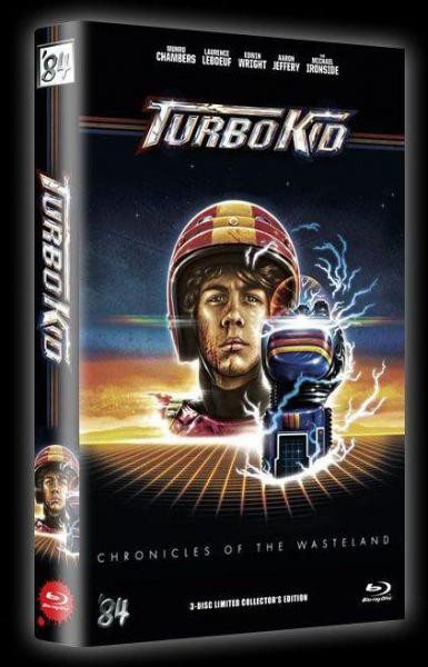 Turbo Kid - 3-Disc Limited Collectors Edition gr. Hartbox (Cover B) BD+DVD - limitiert auf 99 Stück